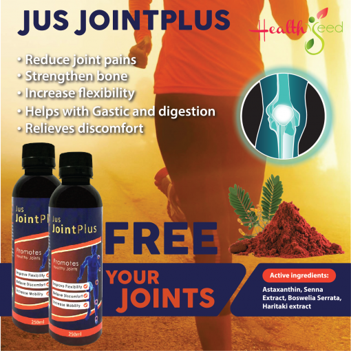 Jus Joint Plus (3 bottles)