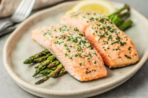baked-salmon-with-garlic